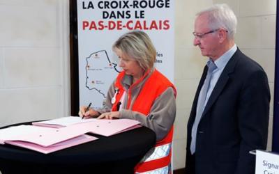 Une convention entre la Croix-Rouge et la Communauté urbaine d'Arras