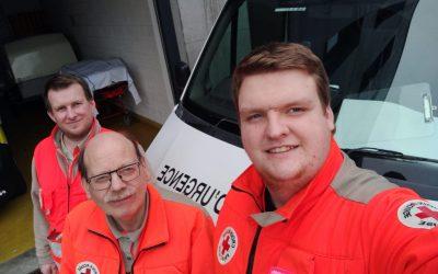 Coronavirus : les secouristes du Pas-de-Calais sur le front des urgences au centre hospitalier d'Arras