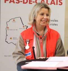 Sur FR3, Fabienne Berquier, présidente de la Croix-Rouge du Pas-de-Calais fait un appel aux dons